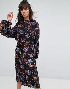 Платье с принтом Weekday - Мульти