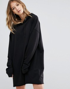 Черное платье-худи Daisy Street - Черный