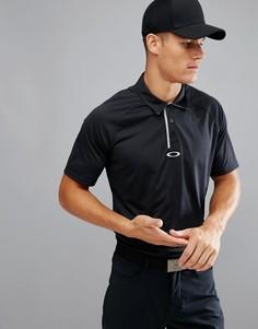 Черное поло классического кроя Oakley Golf Elemental - Черный