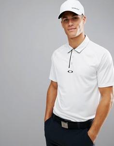 Белая футболка-поло классического кроя Oakley Golf Elemental - Белый