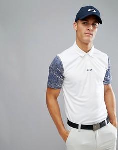 Белая футболка-поло классического кроя Oakley Golf - Белый