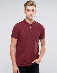 Сливовая футболка-поло из пике Jack Wills Aldgrove - Красный