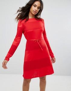 Платье мини Tommy Hilfiger X Gigi Hadid - Красный