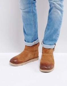 Классические водонепроницаемые ботинки с молниями UGG - Бежевый