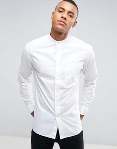 Рубашка с воротником на пуговице Celio - Белый