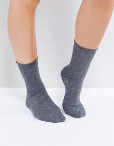 Блестящие носки Vero Moda - Синий