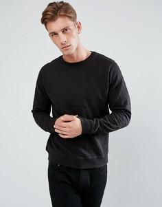 Свитшот с вышивкой Bellfield - Черный