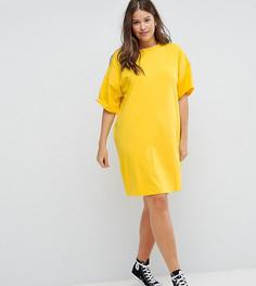 Платье-футболка ASOS CURVE Ultimate - Желтый