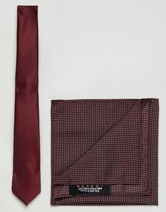 Комплект с галстуком Burton Menswear - Красный