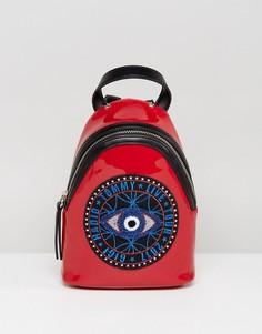 Рюкзак с принтом всевидящего ока Gigi Hadid - Черный Tommy Hilfiger