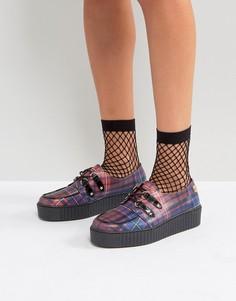 Кожаные туфли-криперы Gigi Hadid - Мульти Tommy Hilfiger