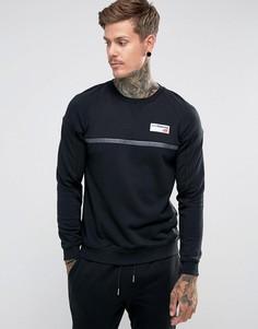Черный свитшот New Balance Athletics MT73526_BK - Черный