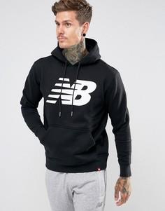 Худи черного цвета New Balance Essentials MT73529_BK - Черный