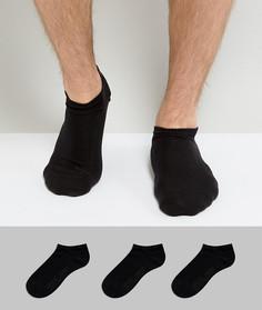 Набор из 3 пар черных спортивных носков эксклюзивно для Levis - Черный Levis®