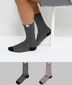 Набор из 2 пар толстых носков Tokyo Laundry - Красный