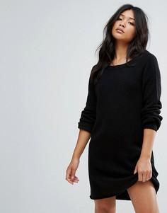 Трикотажное платье-джемпер JDY - Черный