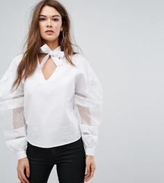 Блузка Boohoo - Белый