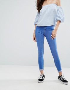 Супермягкие облегающие джинсы New Look - Синий