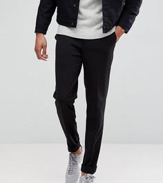 Суженные книзу укороченные брюки Selected Homme TALL - Черный