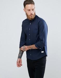 Темно-синяя оксфордская рубашка Lindbergh - Темно-синий