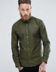 Оксфордская рубашка цвета хаки Lindbergh - Зеленый