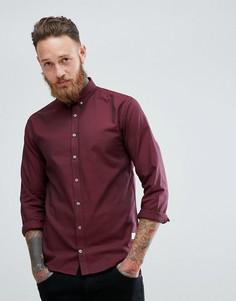 Бордовая оксфордская рубашка Lindbergh - Красный