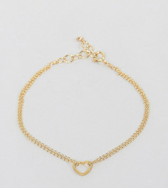Позолоченный браслет с подвеской Dogeared - Золотой