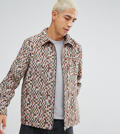 Куртка в клетку Reclaimed Vintage Inspired - Красный