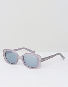 Серые квадратные солнцезащитные очки Quay Australia Lulu - Серый