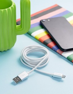 Серебристый кабель микро-USB Hama - Мульти