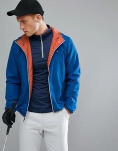 Ветровка с капюшоном Calvin Klein Golf - Синий