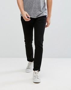 Черные зауженные джинсы Weekday Friday - Черный