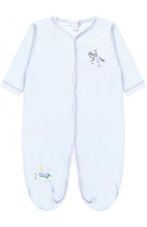 Хлопковая пижама с вышивкой Kissy Kissy