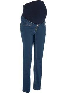 Для будущих мам: брюки с прямыми брючинами (темно-синий) Bonprix