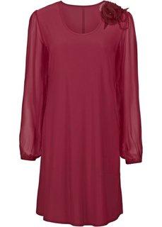 Коктейльное платье (кленово-красный) Bonprix