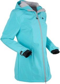 Функциональная куртка софтшелл (аква) Bonprix