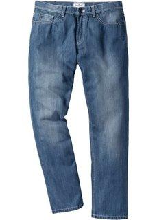 Джинсы Regular Fit Straight, cредний рост (N) (голубой выбеленный) Bonprix