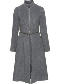 Пальто с застежкой-молнией (темно-серый) Bonprix