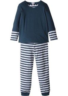 Пижама (2 изд.) (темно-синий/белый) Bonprix