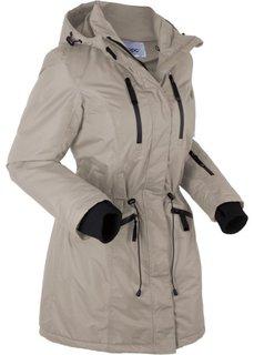 Функциональная куртка (серо-коричневый) Bonprix