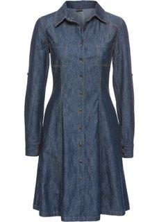 Джинсовое платье (индиго) Bonprix