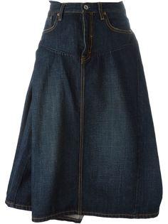 пышная джинсовая юбка Junya Watanabe Comme Des Garçons