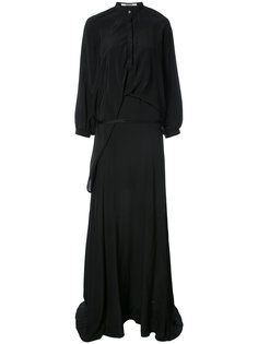 длинное платье-рубашка Chalayan