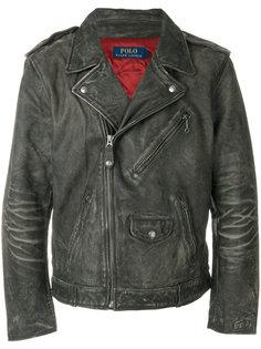 байкерская куртка Polo Ralph Lauren