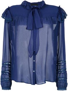 silk shirt Andrea Bogosian