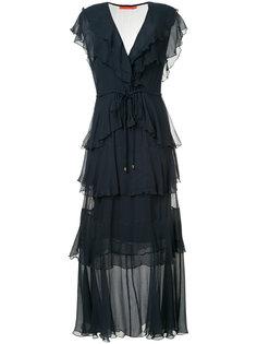 платье макси Gypsy с оборками Manning Cartell