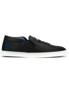кроссовки без застежки Karlito Fendi