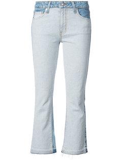 укороченные расклешенные джинсы Gia Derek Lam 10 Crosby