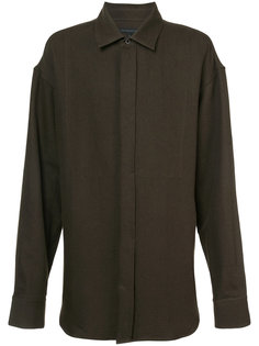 рубашка с видными швами Ann Demeulemeester