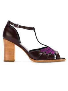 patent leather pumps Sarah Chofakian